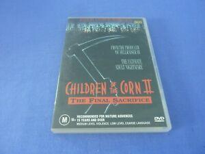 Children Of The Corn II The Final Sacrifice DVD Terrence Knox Region 0