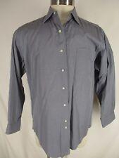 Brooks Brothers Makers Mens Grey Chambray Cotton Dress Shirt 16-33 USA Made