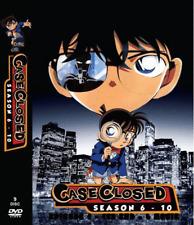 ANIME DVD Detective Conan Season 6-10 English Subtitle All Region + FREE SHIP