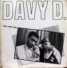 "Davy D - Feel For You / Davy's Rid 12"" VG+ 44-07463 Vinyl 1987 Def Jam USA Rap"