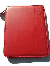 Filofax A5 zipped folio Pennybridge Red