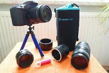 Canon EOS 600D l 3x Objektiv I XXL EXTRAS NEU l DSLR 18MP FHD Video FULLHD SET