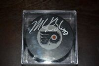 MIKE KNUBLE PHILADELPHIA FLYERS SIGNED PUCK #22