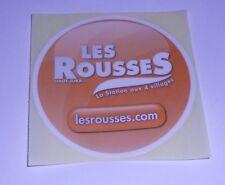 """Autocollant """"Les Rousses"""" (Station De Ski)"""
