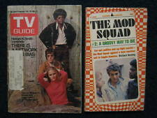 Feb. 28, 1970 TV Guide w/ MOD SQUAD & Paperback Book (PEGGY LIPTON/MICHAEL COLE