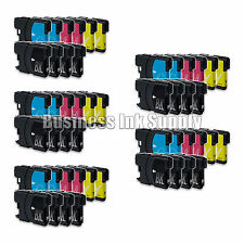 50 PK New LC61 Ink Cartridge for Brother Printer MFC-490CW MFC-J415W MFC-J615W