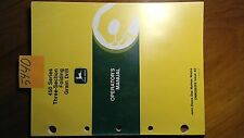John Deere 450 Series Three-Section Folding Grain Drill Owner Operator Manual 90