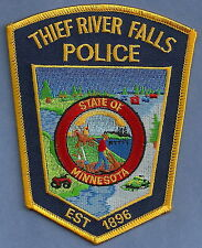 THIEF RIVER FALLS MINNESOTA POLICE PATCH