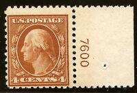 US Stamp #503~ MNH OG ~ Plate Number Single [PNS] ~ Always Free Shipping!!!