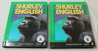 Shurley English Student Textbooks Set Level 3 Book A & B VGC Set