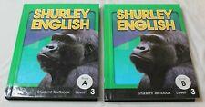 Shurley English Student Textbooks Set Level 3 Book A & B VGC Set