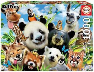 Llama Drama Selfies ~ Cute Animal ~ 1000 Piece Educa Jigsaw Puzzle
