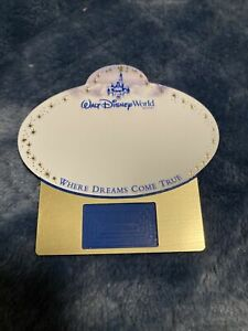 Walt Disney World Rare Blank Name Tags. Note- Price Shown Is For One Tag.