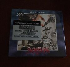 Carcass Swansong CD DVD NEW Ltd Edition Dual Disc Plus Sticker Sheet Sealed!