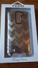 Incipio Design Series Protective Case Clear/Silver for LG K7
