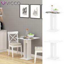 Esstisch Küchentisch Esszimmer Tisch Säulentisch Ewert weiß 65x65 cm Vicco