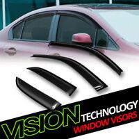 JDM Vent Window Visor 4pc Wind Deflector For Toyota Land Cruiser 91-97 1991-1997