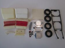 Black Widow Model Car Kit Parts & Pieces by Monogram