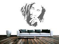 Bob Marley - Stencil in A5 A4 A3 A2 A1 A0 FAM180