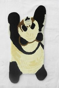 """Animals Tufted Carpets """"Sleeping Panda"""" size 2x3 Ft. 'Beige color'"""