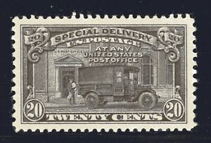 U.S. STAMP #E19 — 20c SPECIAL DELIVERY — XF — MINT GRADED 90