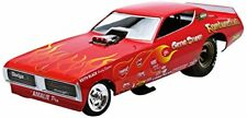 1971 Dodge Charger turbolento quarto Dragster Funny Car 1 18 Auto World Ertl
