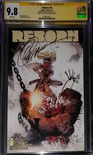 """Reborn #4 Cover A """"The Collection of Capullo"""" CGC SS 9.8 sig Capullo NETFLIX"""