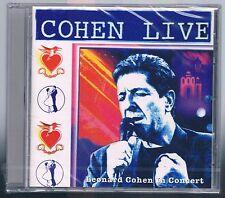 LEONARD COHEN LIVE IN CONCERT  CD SIGILLATO!!!!