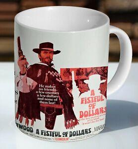 A Fistful of Dollars Clint Eastwood Ceramic Coffee Mug - Cup