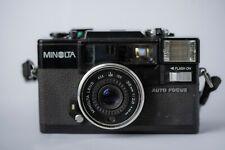 Minolta Hi-Matic AF-D35mm Film Point & Shoot Camera / 38mm Lens