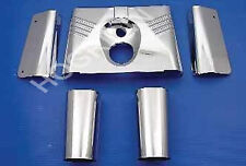 Harley Davidson 5 piece front fork tins fatboy heritage classic softail flstc