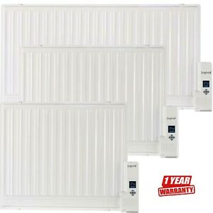 Oil Filled Panel Radiator 600-1000W Wall Mounted & Freestanding Digital Timer