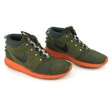 NIKE ROSHE RUN SNEAKERBOOT 615601-300 Dark Loden Brown Shoe Sz 13 Casual Leisure