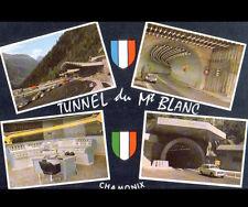 TUNNEL du MONT BLANC (74) PEUGEOT 403 & TABLEAU de CONTROLE