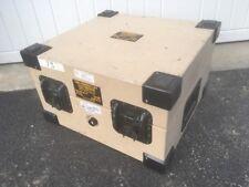 Penn-Elcom Aluminum Square Military Electronics Case 18x17x11 Desert Sand