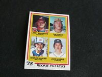 1978 Topps  #703 Jack Morris Baseball card Detroit Tigers