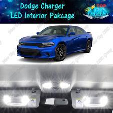 17x White Interior Led Lights Package Kit For 2011 2019 2020 Dodge Charger