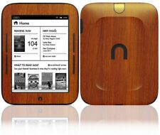 Skinomi Light Wood Skin+Screen Protector for Barnes & Noble Nook Simple Touch