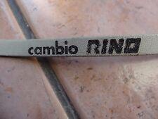 NOS Cambio Rino strap white leather new.L'Eroica