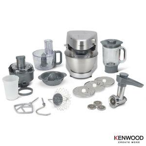 Compact Design Prospero Plus 4.3L Bowl Stand Mixer in Silver With 11 Attachments