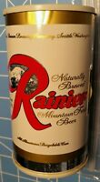 1960's Rainier Beer, Seattle Washington Beer Can Radio- Nice 'n Rare!