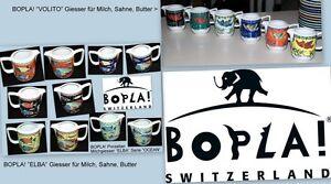 Volito Elba BOPLA Porzellan Giesser Milch Butter Sahne Sauciere Cremier Creamer