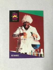 Biz Markie trading card (usa version)