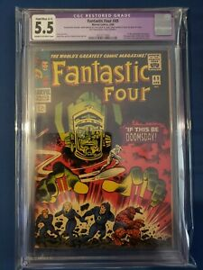 Fantastic Four 49 (1966) 1st App. Of Galactus CGC Restored 5.5 2nd Silver Surfer