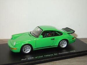 RUF CTR (Porsche) - Spark 1/100pcs for Gummen 1:43 in Box *33829