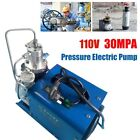 110V 30Mpa Electric Compressor Pump PCP Electric Air Pump/ High Pressure System