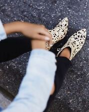 Free People Nelson Ankle Boots By Matisse Pony Hair Suede Dalmatian Size 7 $225