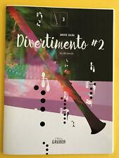 Divertimento #2, Javier Zalba, fpr 3 Bb Clarinets