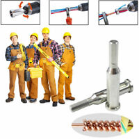 Universal Electrical Cable Twist Quick Connector Drill Bit Wire Stripper Tools
