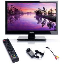 Camping LED TV Wohnmobil Fernseher 15,6 Zoll Xoro 1546 LCD DVB S2 T2 12 V 230